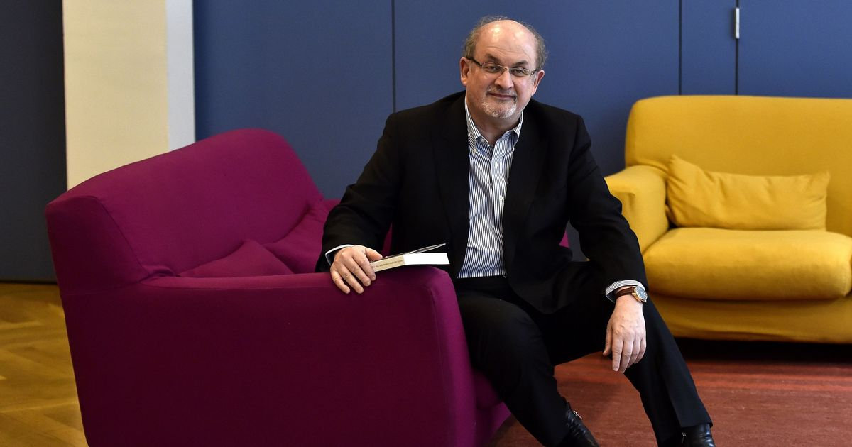 'It's excitingly dangerous to write right up against the present moment:' Salman Rushdie