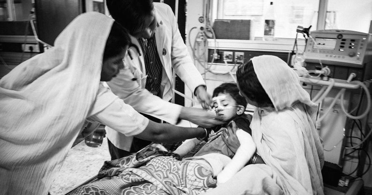 In photos: The children left shrunken and brain-damaged in Gorakhpur's encephalitis ward