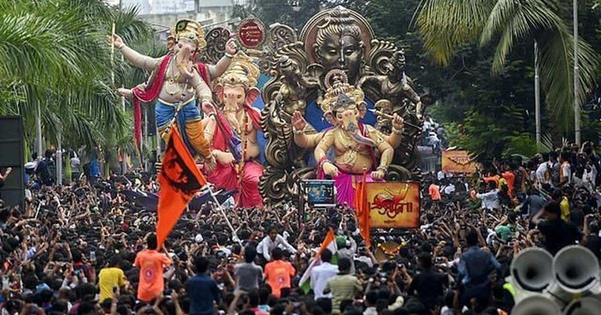 Are Ganesh mandals in Maharashtra behind a