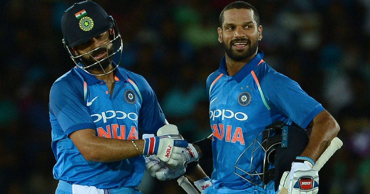 Stroll in the park: Dhawan's blistering century powers India to a 9-wicket win against Sri Lanka