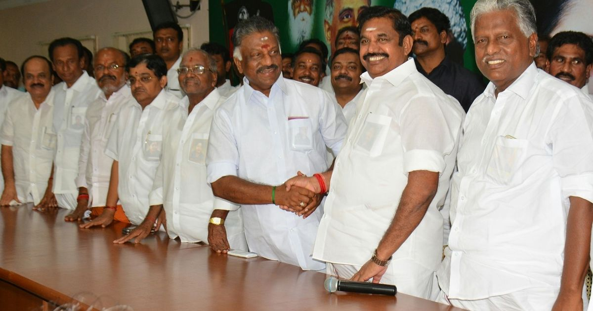 AIADMK crisis 35 MLAs skip meeting chaired by Palaniswami party to expel Dinakaran Sasikala