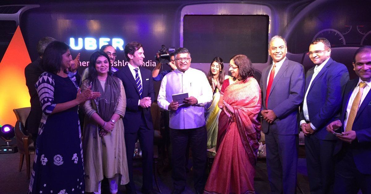 Uber launches UPI integration, commits to government's vision of cashless India
