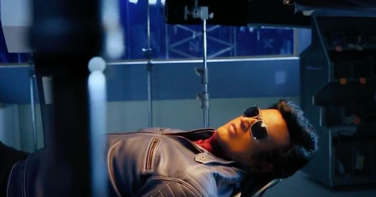 Watch: A glimpse into the making of Rajinikanth's '2.0'