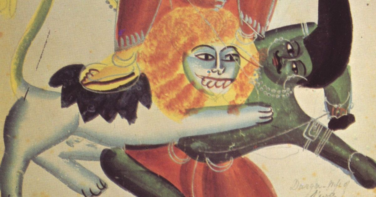 Remythification: How Mahishan was vanquished, but not his love (and lust) for Durga