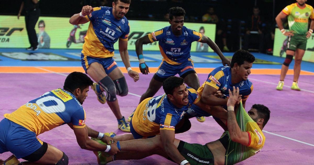 Patna Pirates too strong for Tamil Thalaivas