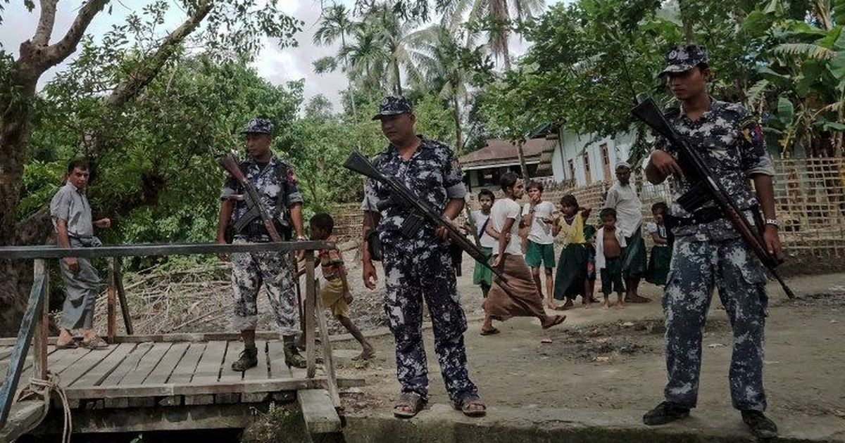 Myanmar military admits its soldiers killed 10 Rohingyas in a village in Rakhine state