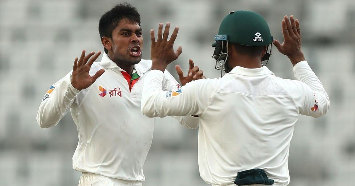 Bangladesh recovers from Cummins' early burst to reach 96-3
