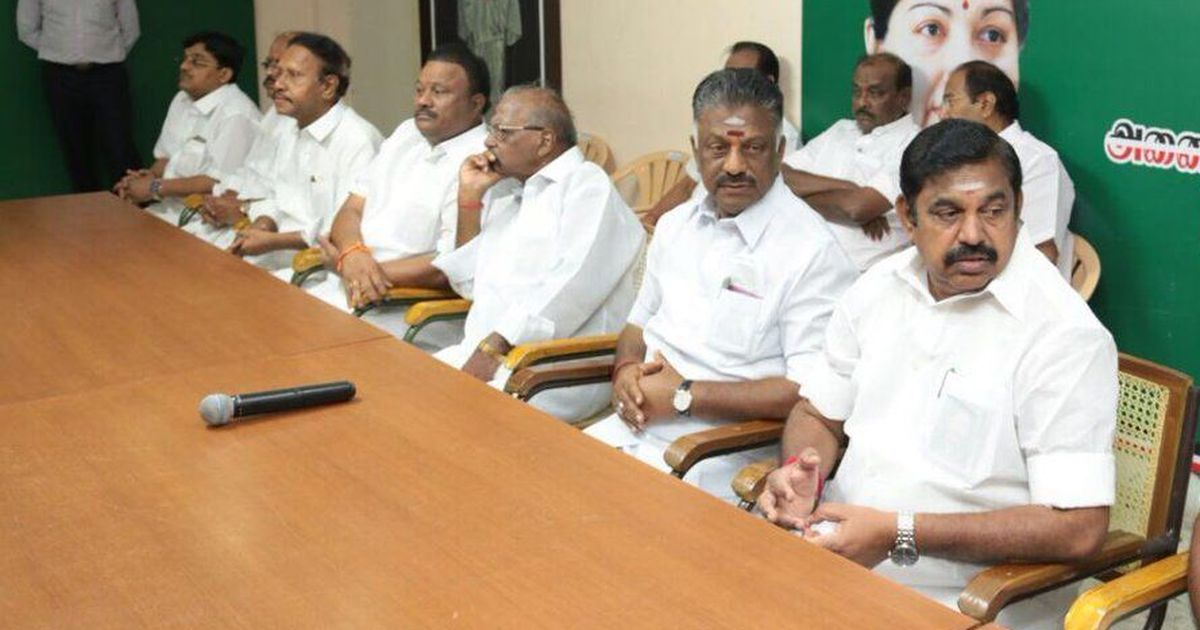 DMK leaders meet governor to press for floor test in Tamil Nadu