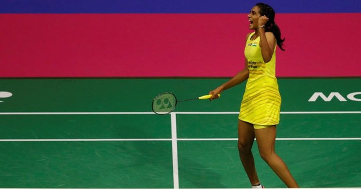 CM felicitates Sindhu for winning Silver Medal