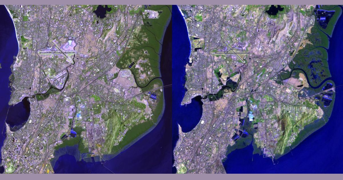 Satellite images show how Mumbai's rivers and mangroves were ... on city of mumbai, food of mumbai, satellite view of mumbai, satellite map bangalore, satellite map pune, satellite map india, satellite imagery of mumbai, outline map of mumbai, satellite map los angeles, road map of mumbai, political map of mumbai, satellite weather, world map of mumbai,
