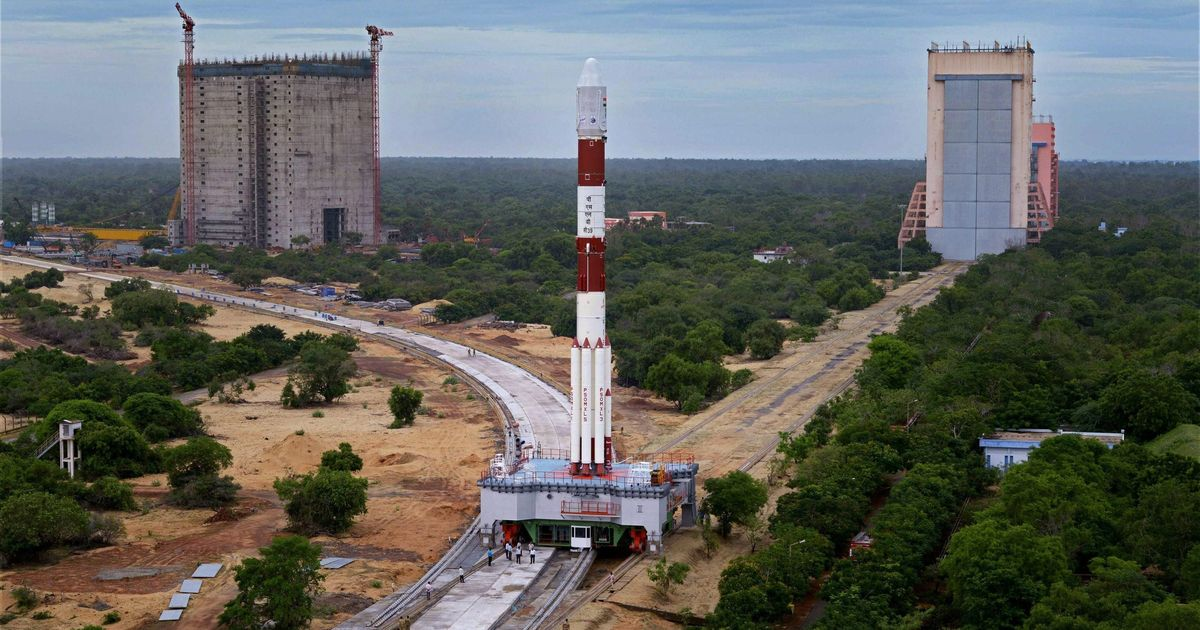 ISRO launches India's 100th satellite from Sriharikota space centre