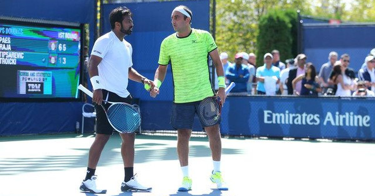 Indian tennis roundup: Paes and Raja, Jeevan advance, Sharan ousted
