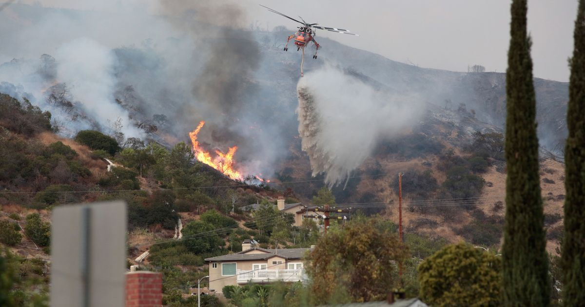 US: 'Largest wildfire' in Los Angeles history triggers massive evacuation operation