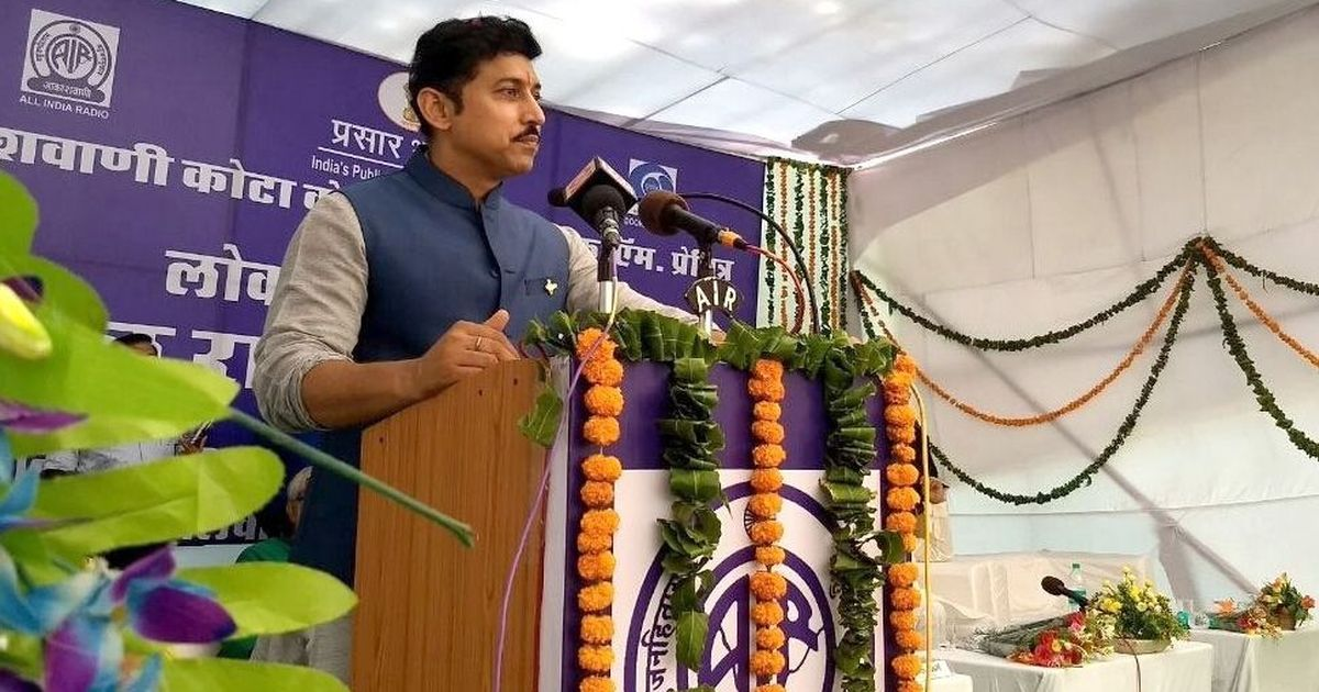 Expectations high: Rajyavardhan promises sportspersons to fix 'old systemic ills'