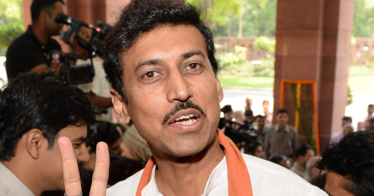 With 1.25 billion people, India has the capability to produce 100 Usain Bolts: Rathore