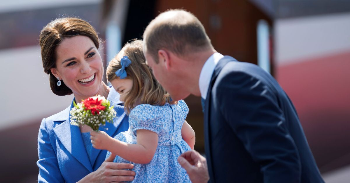 Kate may miss Prince George's first school run with morning sickness