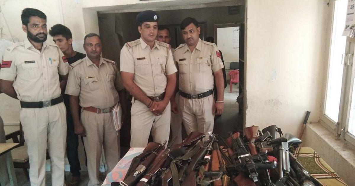 Police seize 33 pistols, revolvers, rifles from Dera Sacha Sauda's Sirsa headquarters