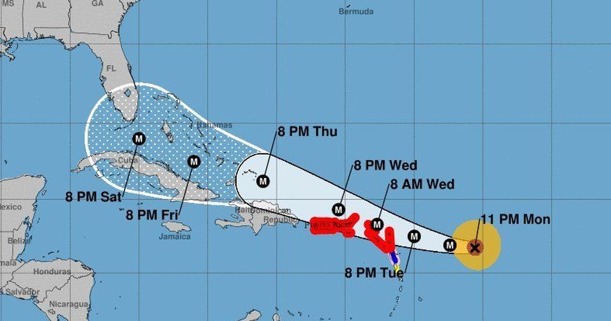Just In: Hurricane Irma Strengthens To Category 5