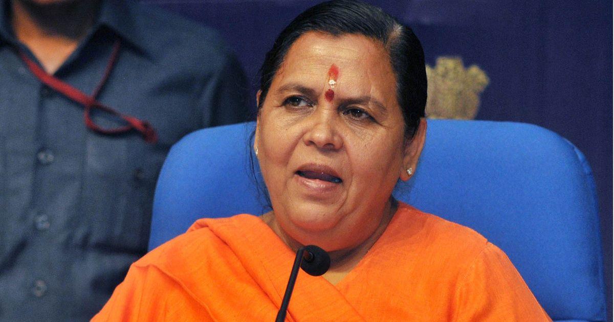 कोई भी मुझे गंगा से अलग नहीं कर सकता : उमा भारती