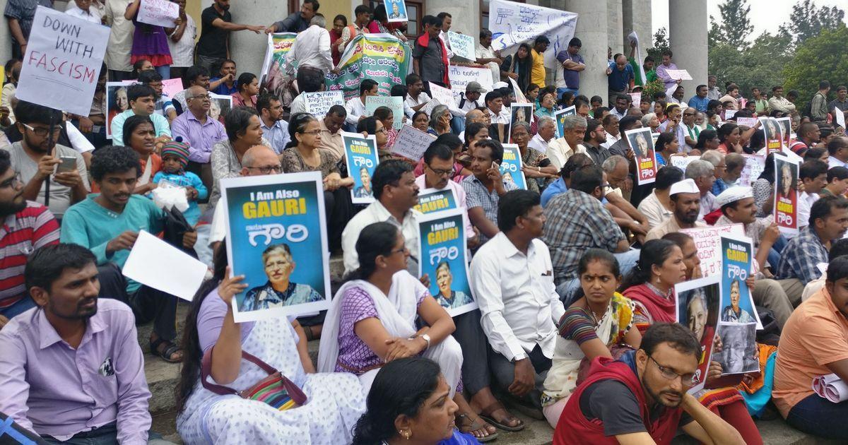 Special Investigation Team to look into Gauri Lankesh's murder, says Karnataka CM Siddaramaiah