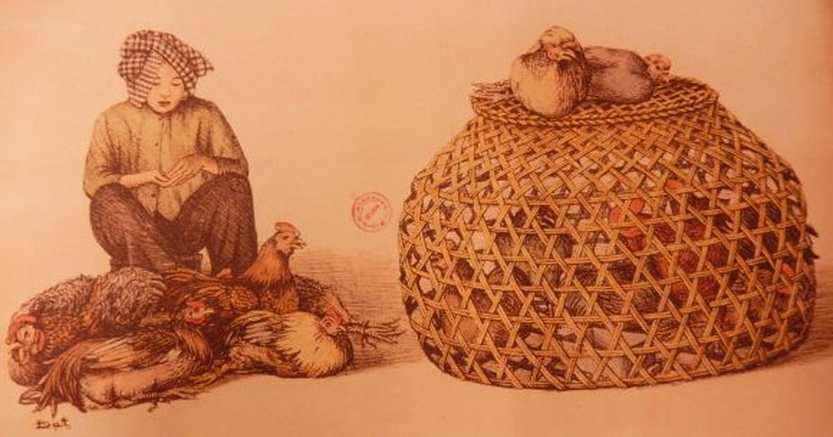 Illustrations: Vietnam's bustling traditional markets in the early 1900s