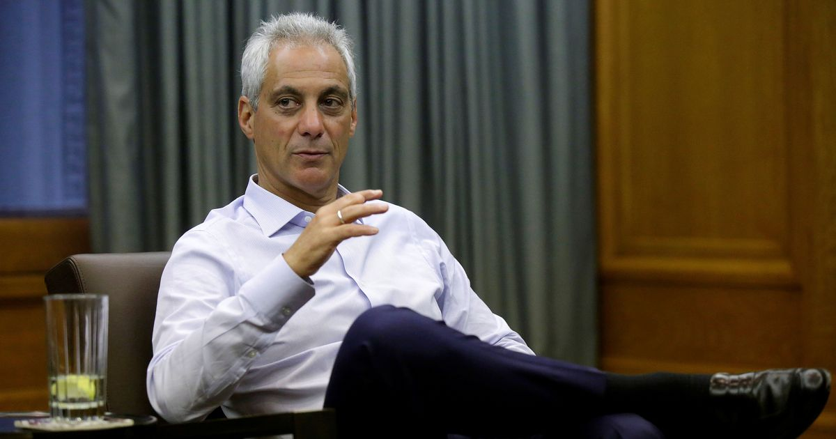 Rahm Emanuel creates 'Trump-free zone' for students at Chicago schools