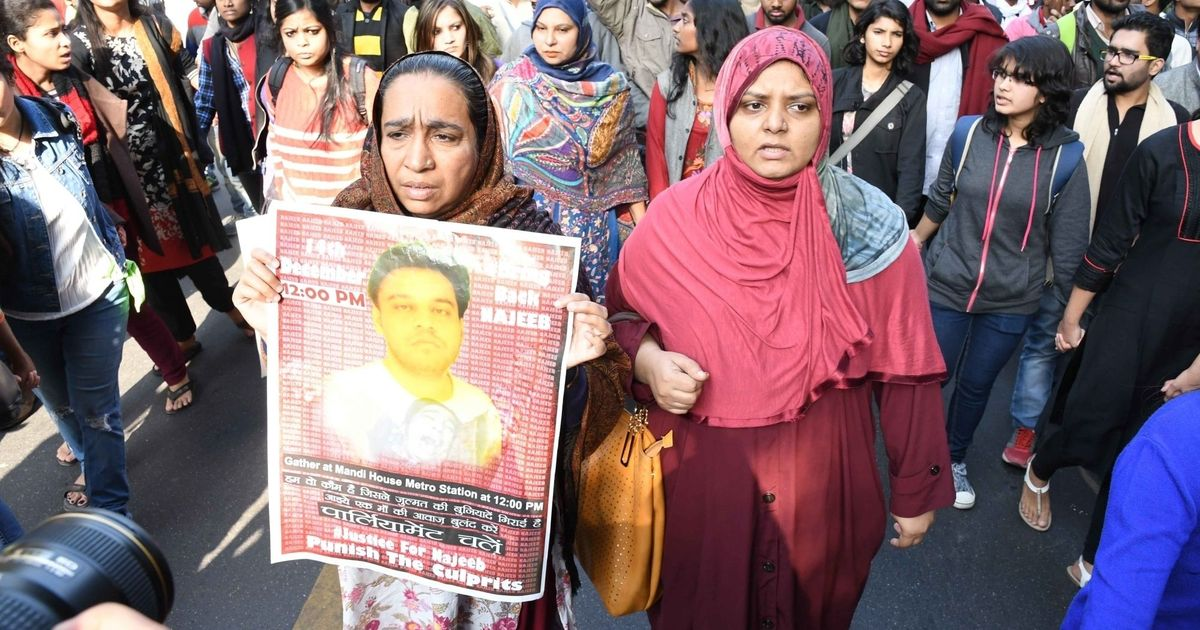 Missing JNU student Najeeb Ahmad's mother sues media houses for linking him with Islamic State group
