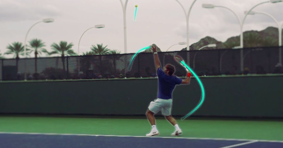 Video: Decoding Roger Federer's picture-perfect serve
