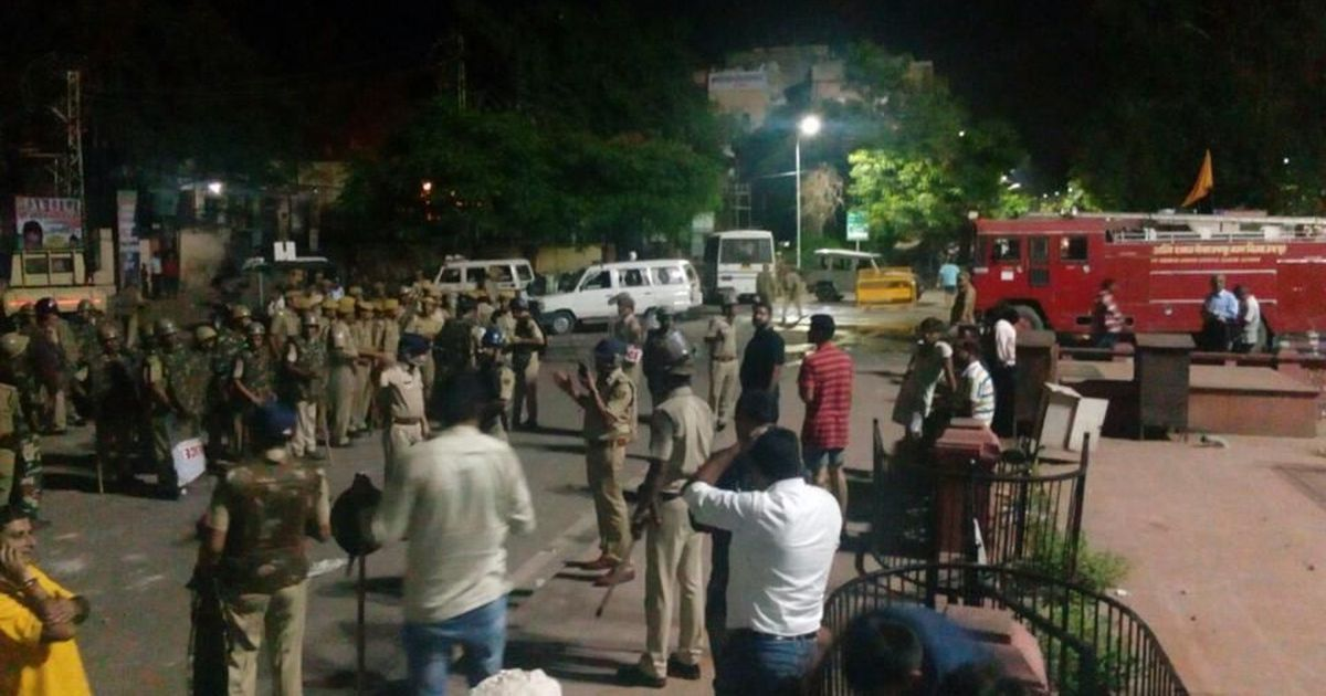 Curfew in Jaipur, one person dead