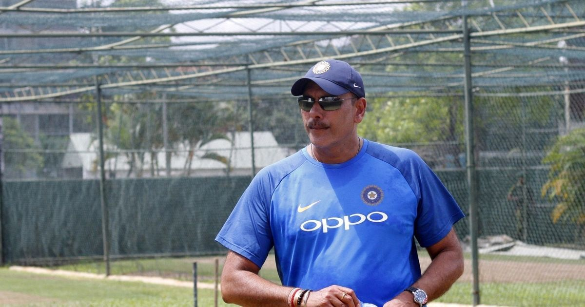 Image result for ravi shastri 2018