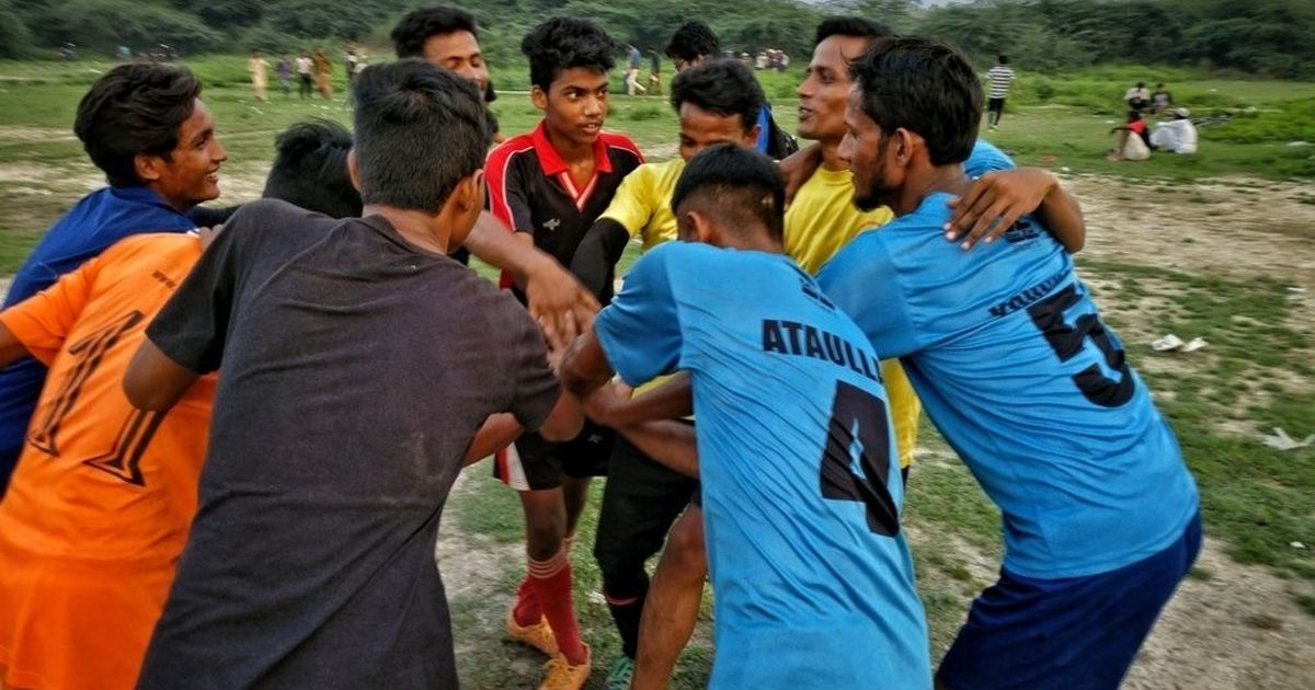 'Don't send us back, shoot us here': Delhi's Rohingya football team with no tomorrow in sight