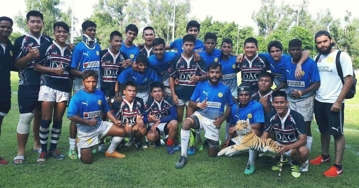 India's U-17 boys Rugby team beat Laos to finish seventh at the Youth Olympic Games Qualifiers