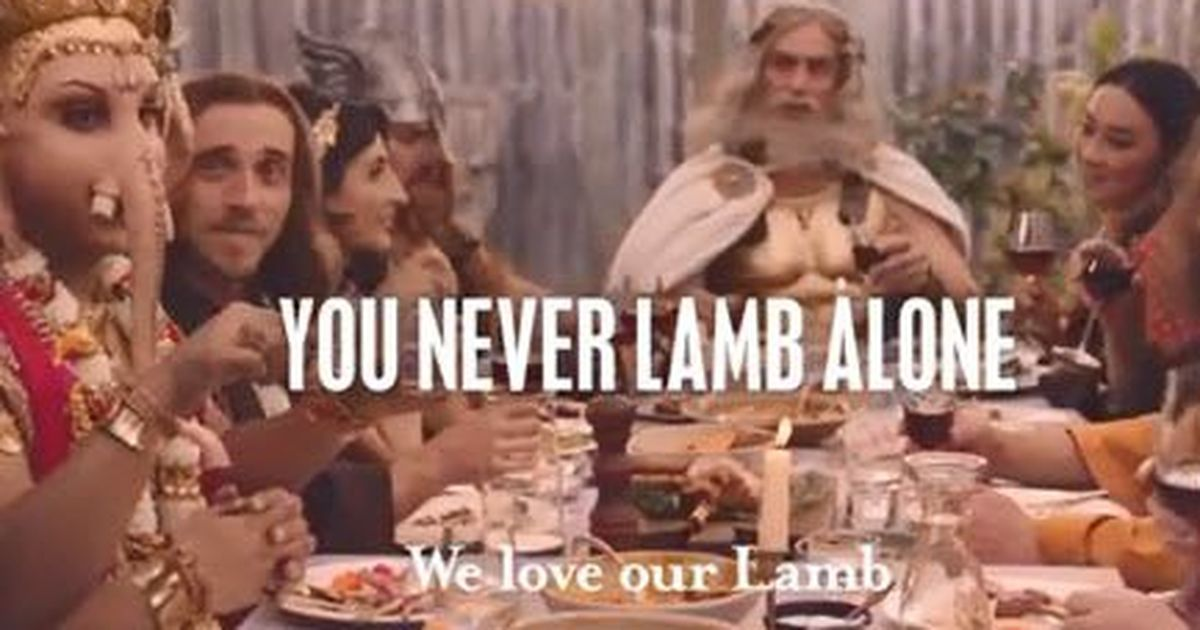 Indian Govt Takes Up Ganesha Lamb Ad with Australia