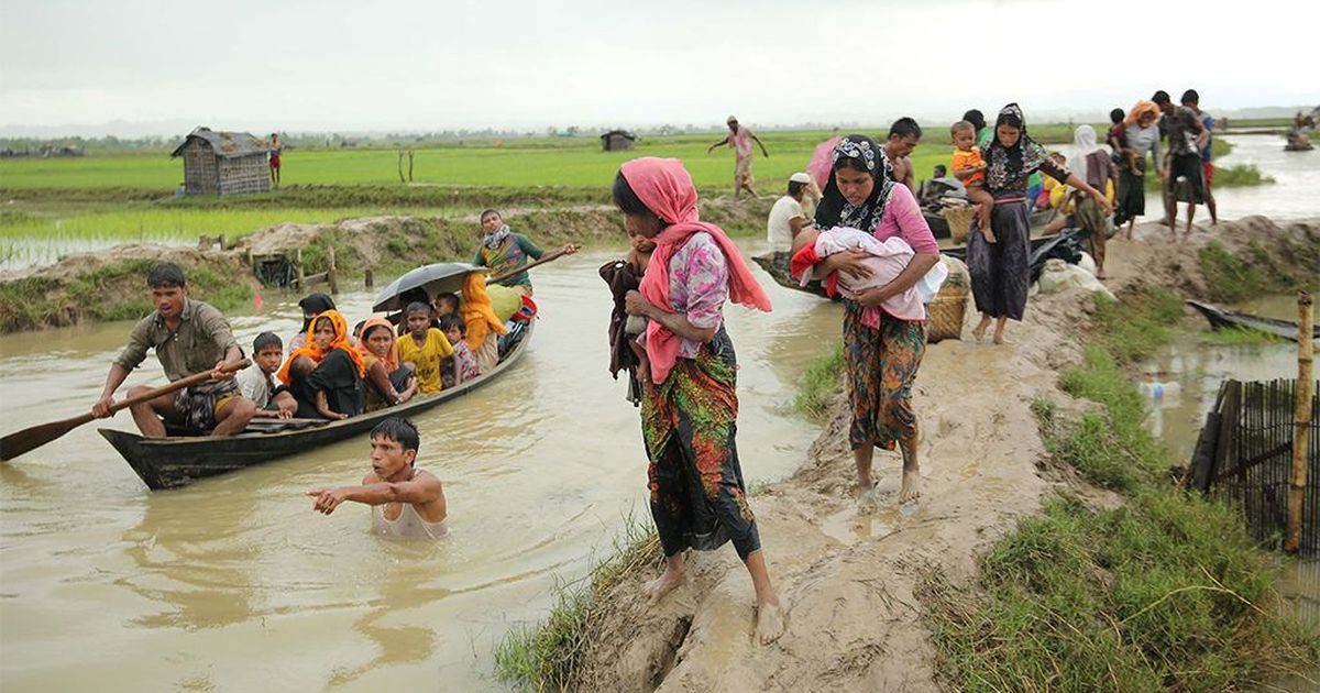 Myanmar, Bangladesh Agree to Cooperate on Rohingya Refugee Repatriation