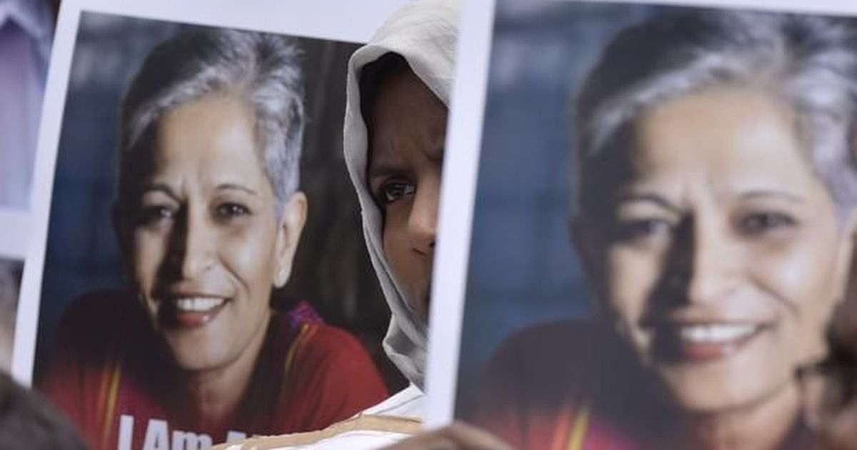 Gauri Lankesh murder SIT takes a suspect into custody in Bengaluru