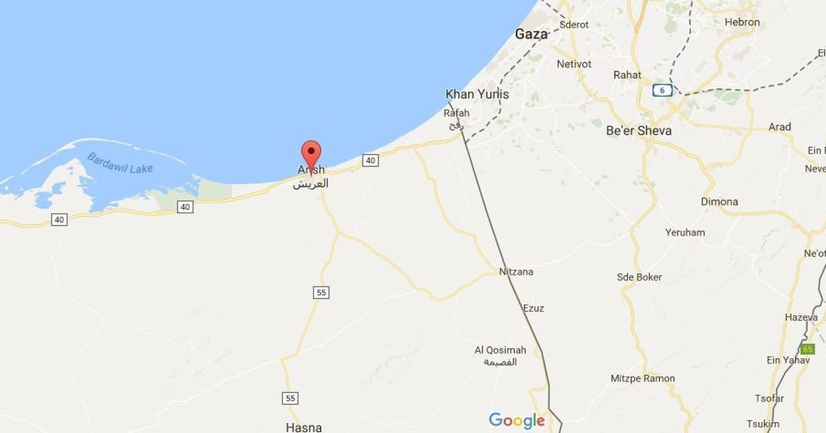 18 dead after police convoy attacked in Egypt's Sinai