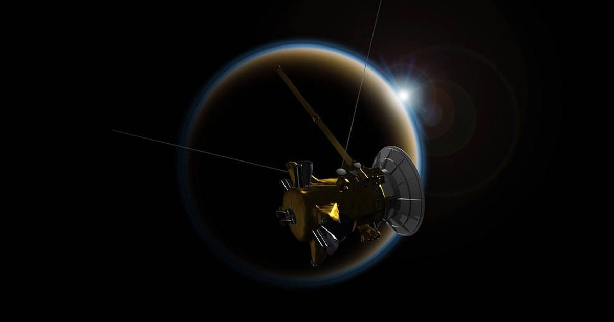 Nasa's Cassini probe flies within 1,20,000 km of Saturn's moon, will be destroyed soon