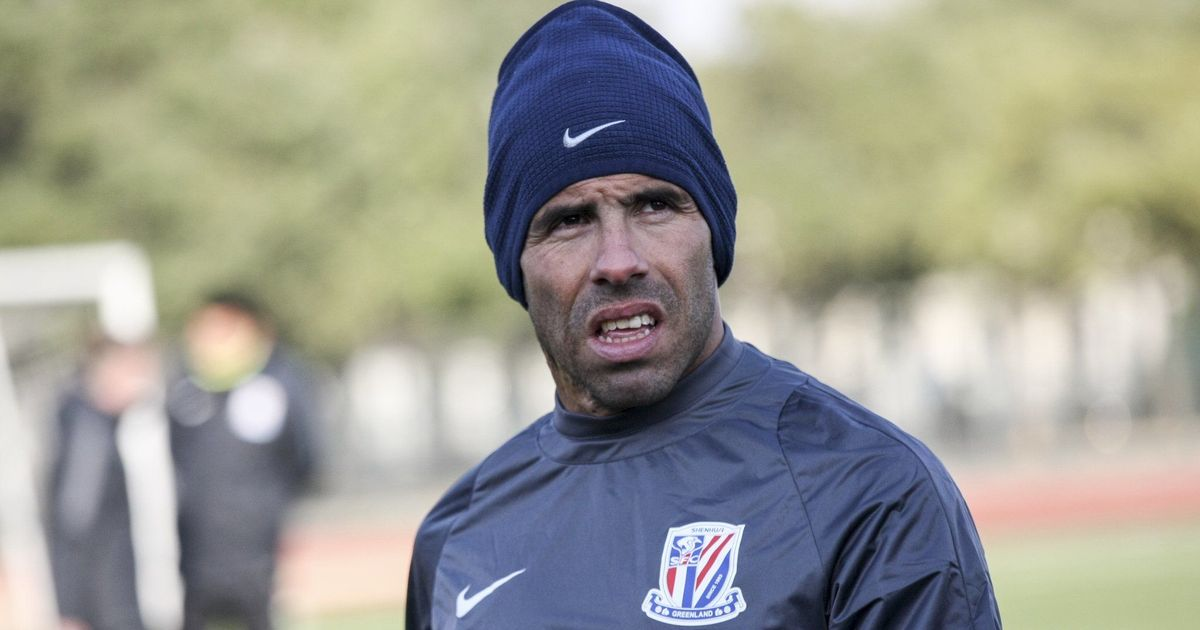Shanghai Shenhua coach says overweight Carlos Tevez will not play unless he is fit