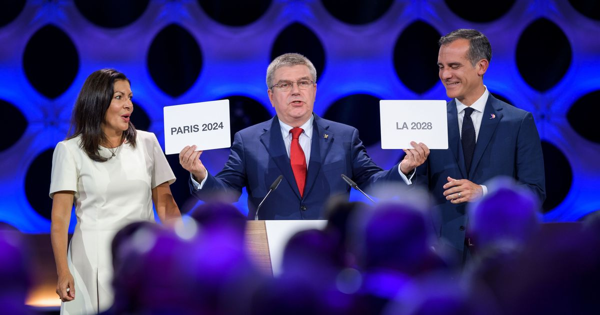 Paris and Los Angeles confirmed as Olympic hosts for 2024 and 2028