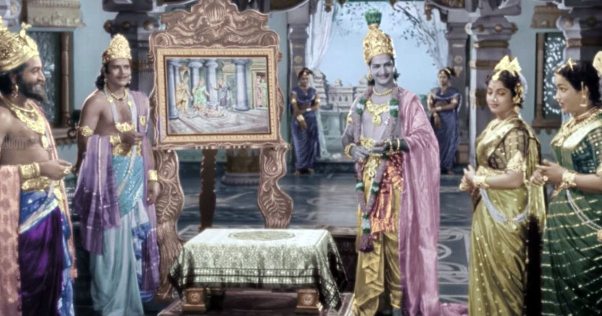 Before baahubali kv reddy revived the action fantasy genre in kv reddy director of pathala bhairavi and mayabazar was the gumiabroncs Image collections