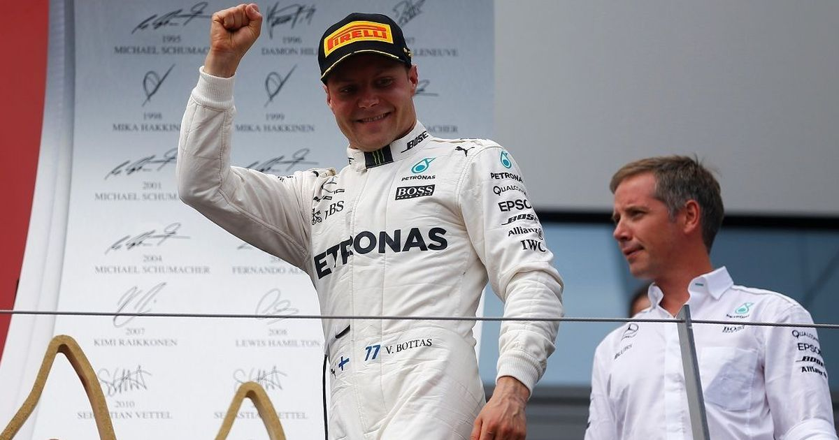 'I'm not here to finish third': Valtteri Bottas sets sights on catching up with Hamilton and Vettel