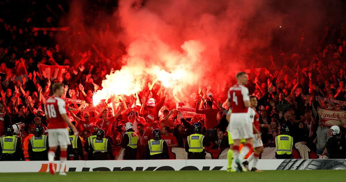 Uefa charges Arsenal, Cologne after fan chaos during Europa League clash at Emirates Stadium
