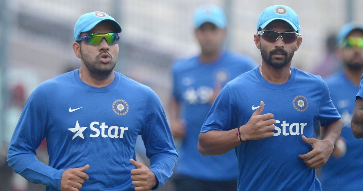Rahane might come in for Dhawan, hints India vice-captain Rohit Sharma