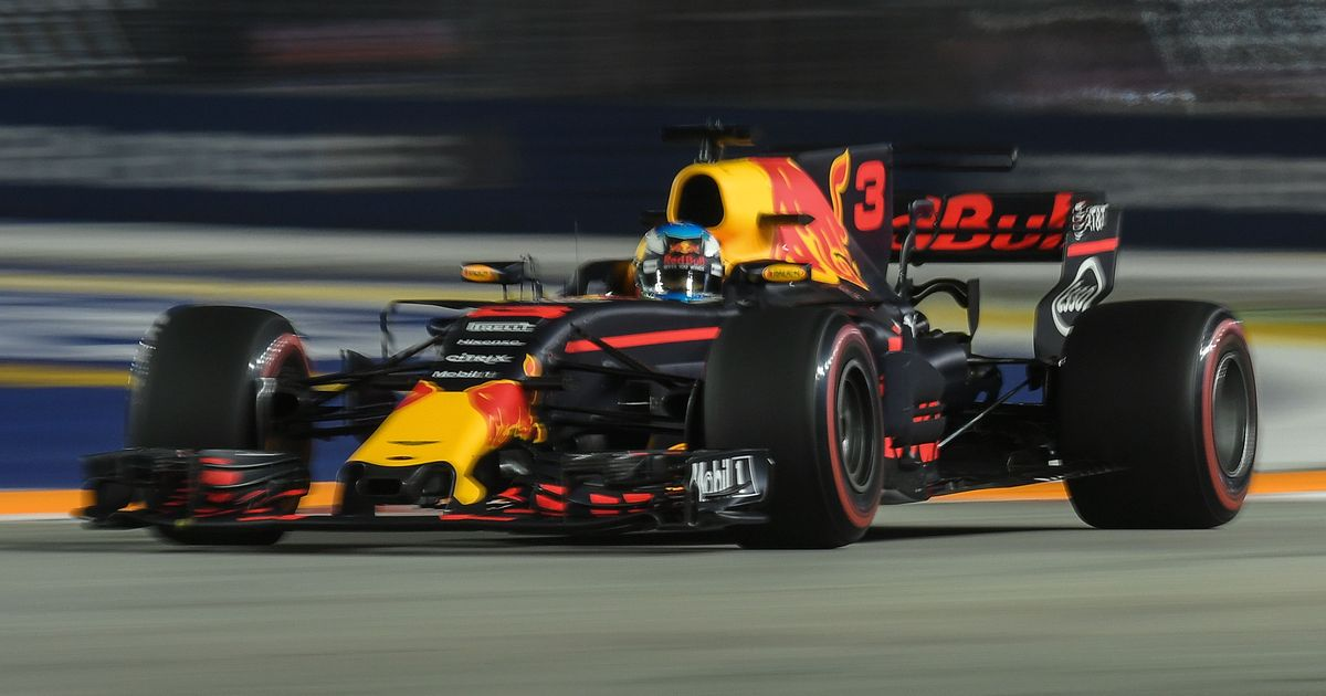 Red Bull set pace during second free practice for the Singapore Grand Prix