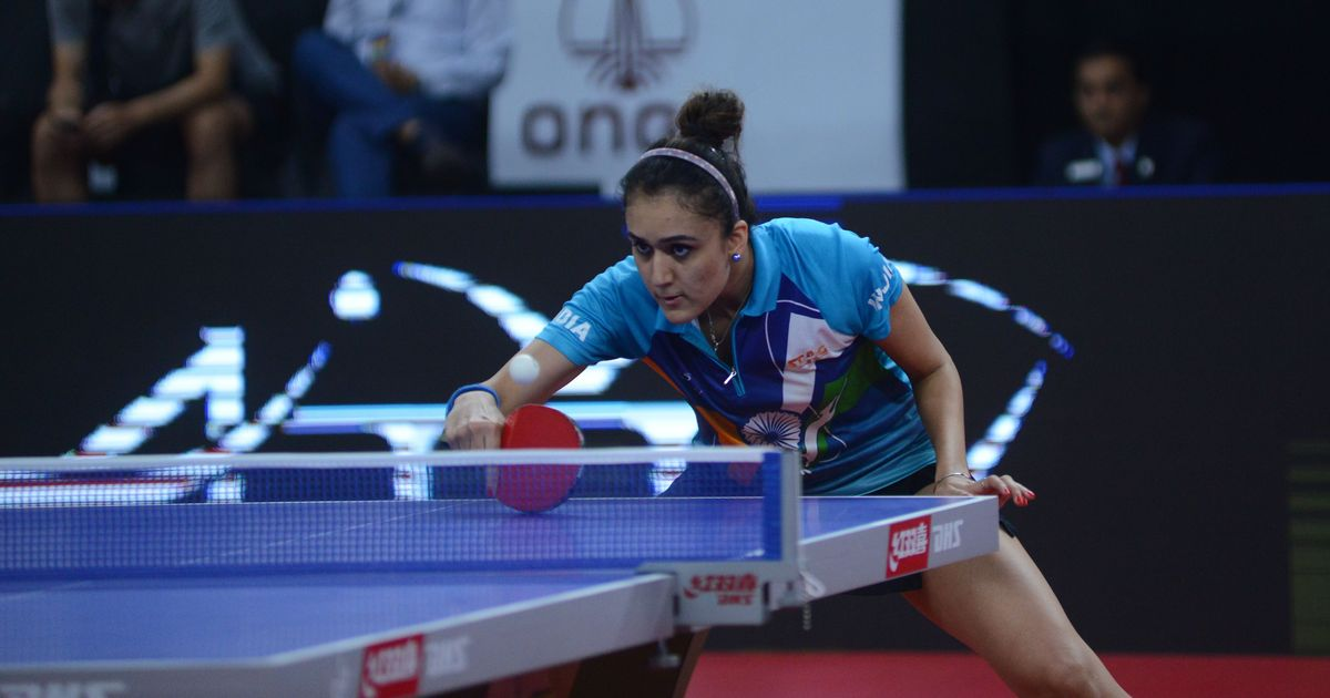 Asian Cup table tennis: Manika lone Indian in challenge round as Sharath, Harmeet bow out