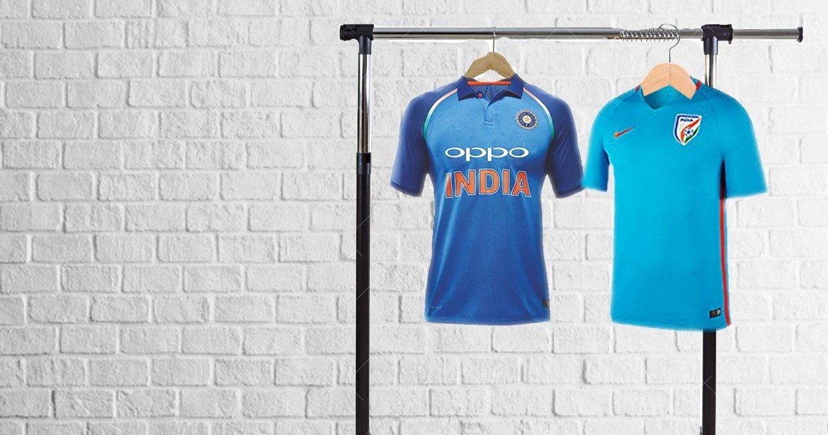 facb24fba Nike s India football jersey costs more than its cricket one and it makes  little sense