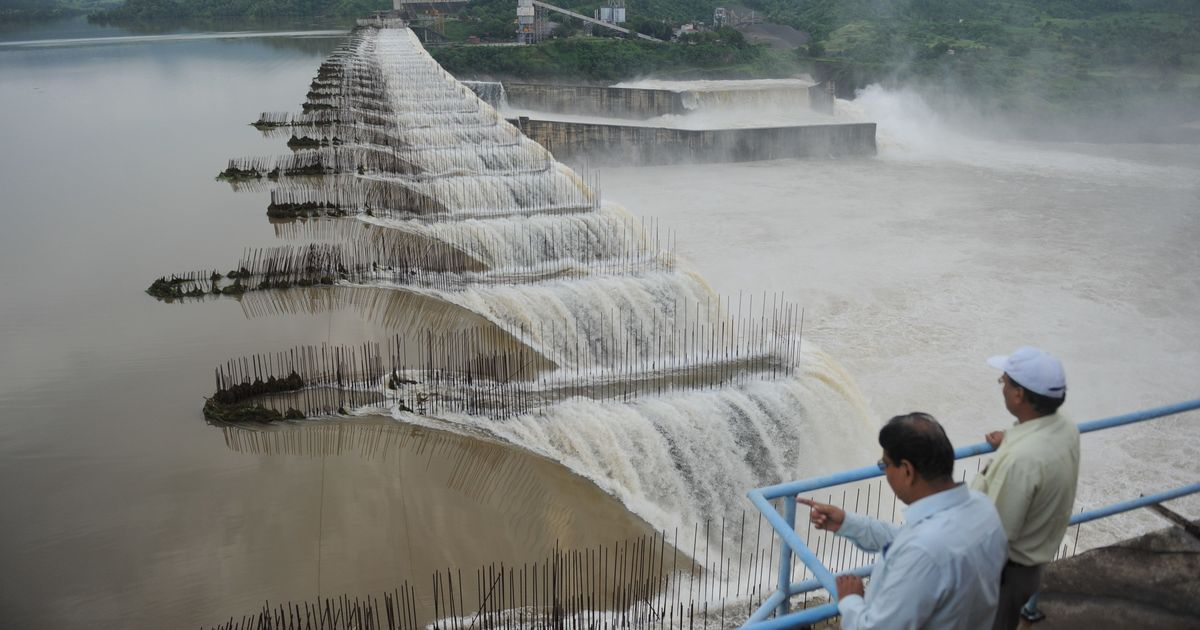 Ahead of Modi's visit, villagers protest as Sardar Sarovar Dam project submerges their homes