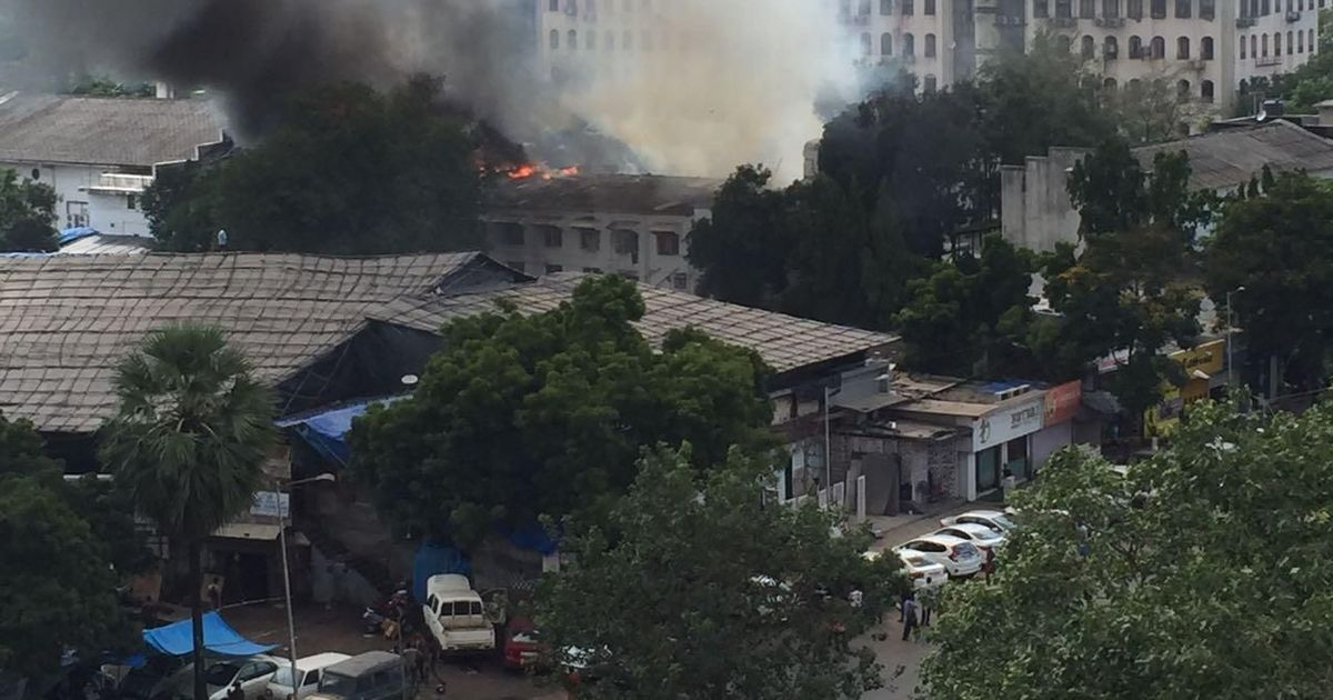 Fire breaks out in RK Studio in Chembur