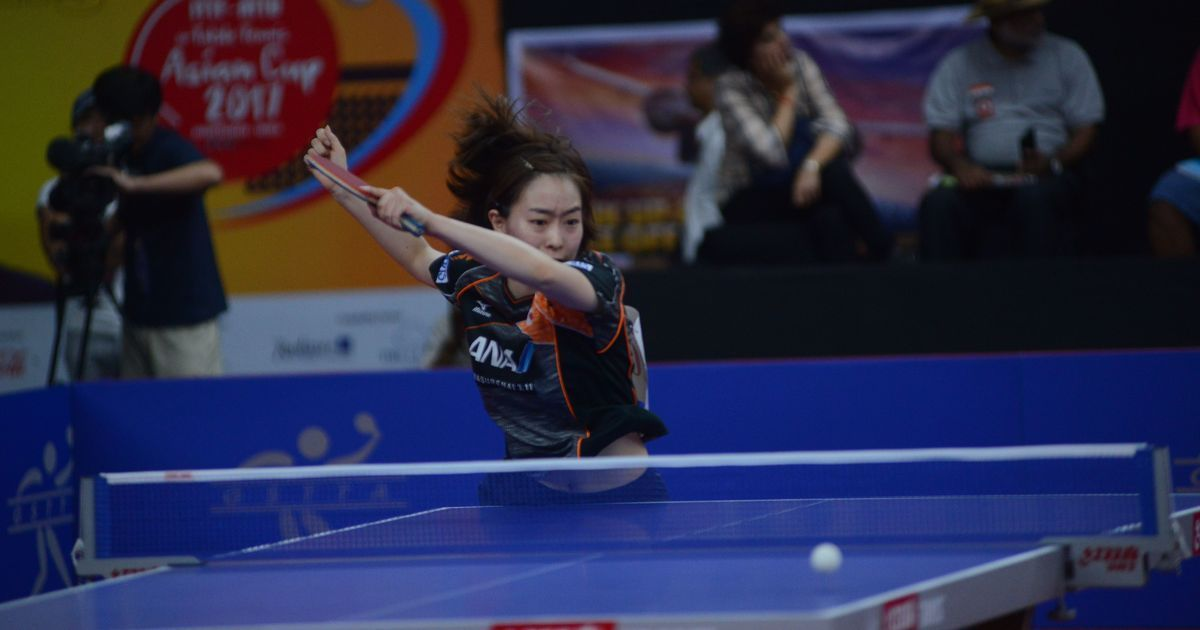 Lights, camera, table tennis: Kasumi Ishikawa is the star Japan's pinning their hope on