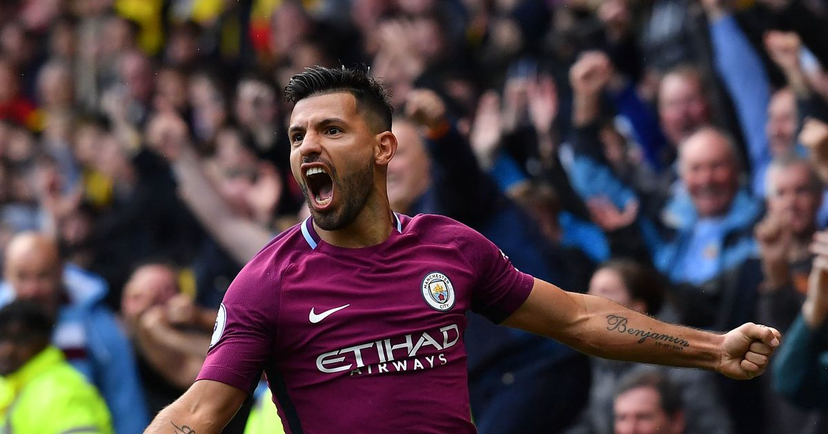Pep Guardiola toasts Manchester City 'legend' Sergio Aguero after hat-trick against Watford